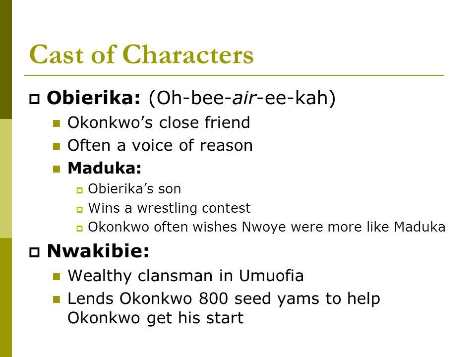 who is obierika