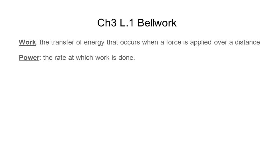 work and simple machines chapter 3 physical science ppt download rh slideplayer com Environmental Science Environmental Science