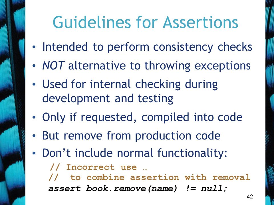 Handling errors Main concepts to be covered Defensive programming