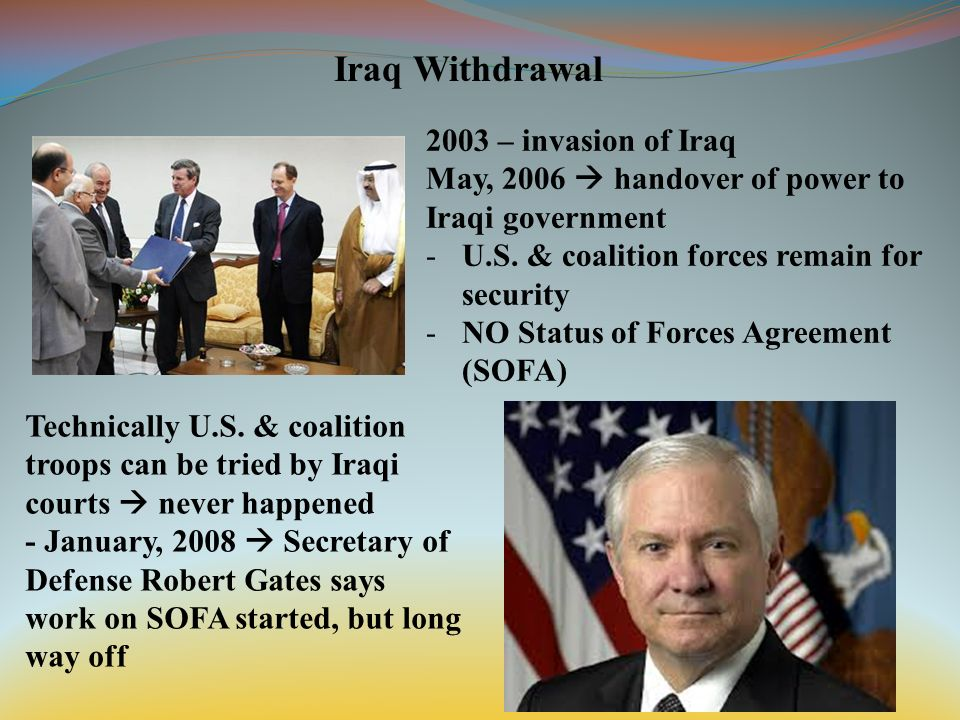 Iraq Withdrawal Key Players Nouri Al Maliki Prime Minister Of Iraq