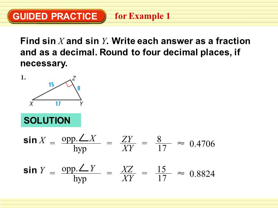 Law of sines or sine rule (solutions, examples, videos).