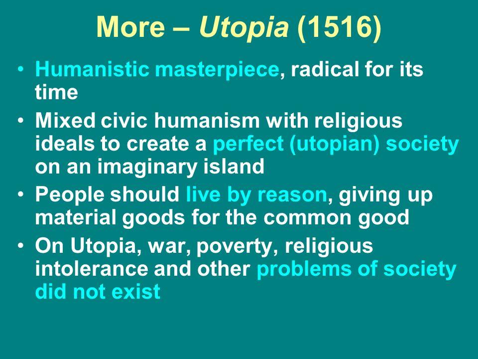 humanism in utopia