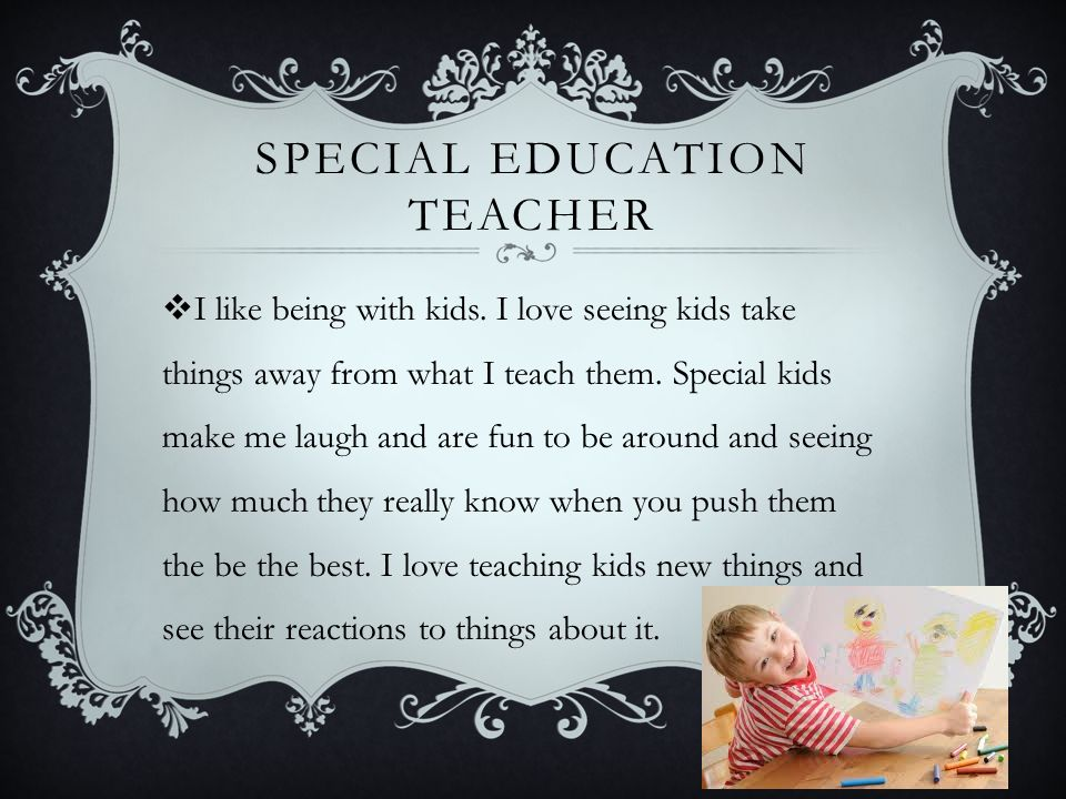 What Does Good Special Education Teaching Look Like On >> Special Education Teacher Madalyn Mcbride Brief Info Special