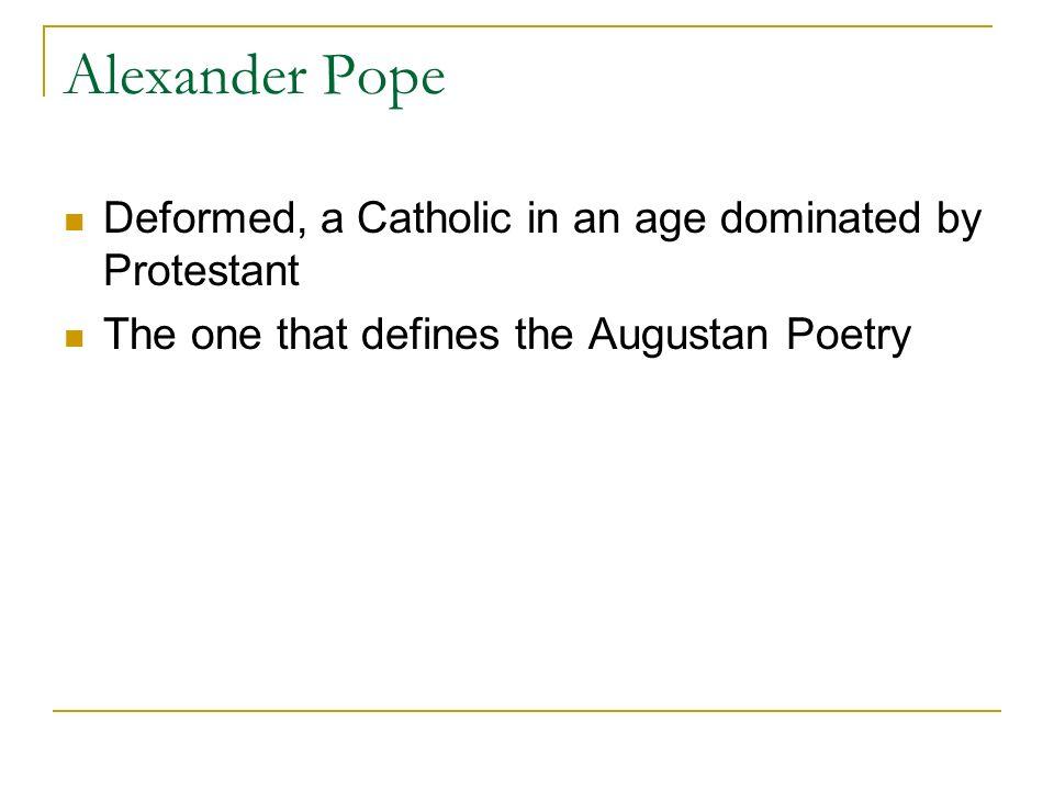 pope sound and sense