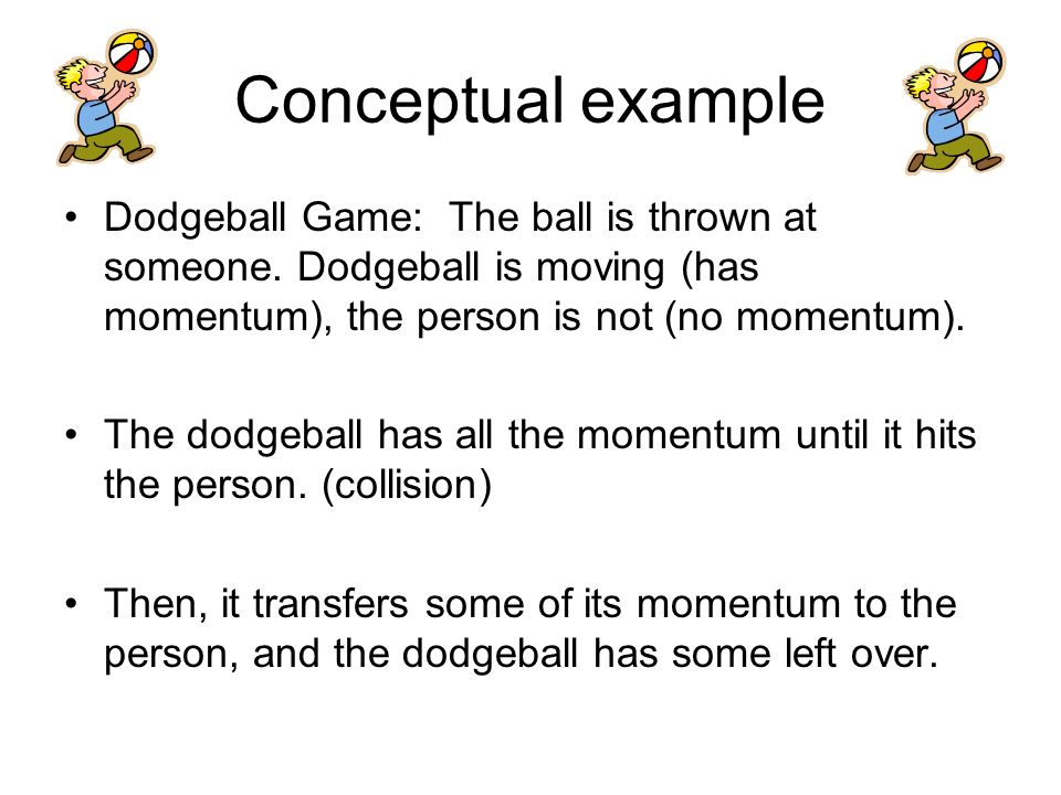 Law Of Conservation Of Momentum The Law Of Conservation For