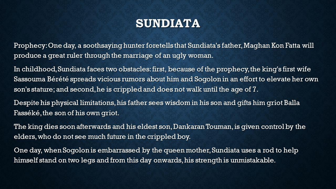 women in sundiata