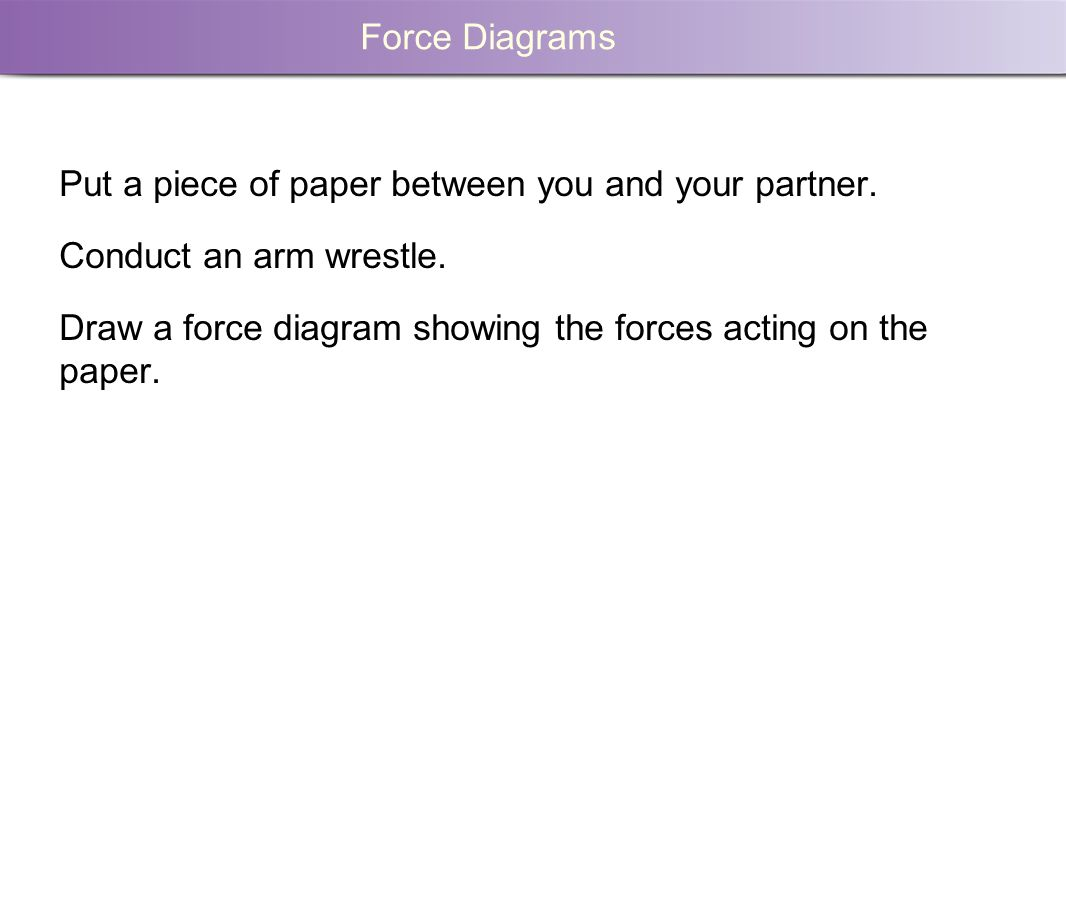 Force Diagrams What Forces Act On These Objects Ppt Download Is A Diagram 9