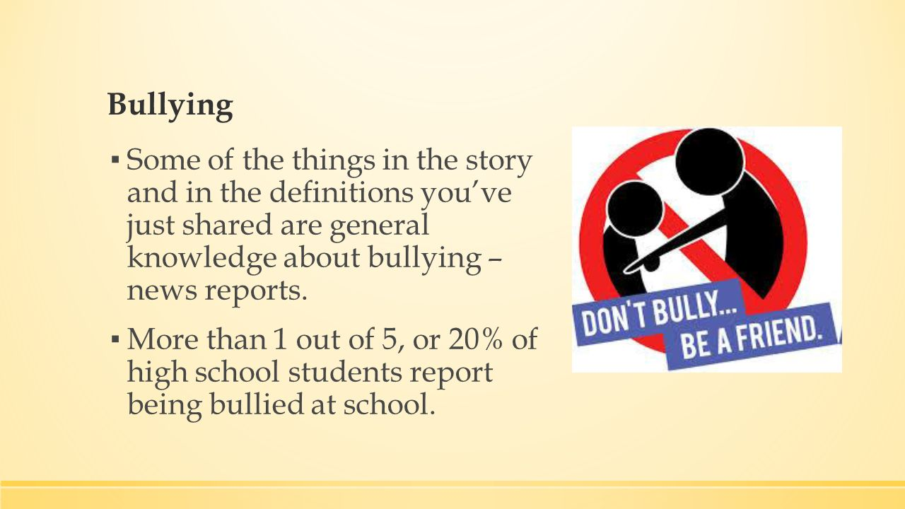 Preventing Bullying Lesson 5 5 Bell Ringer Open Unit 5 Student