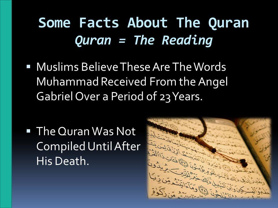 Quran Facts - Gambar Islami