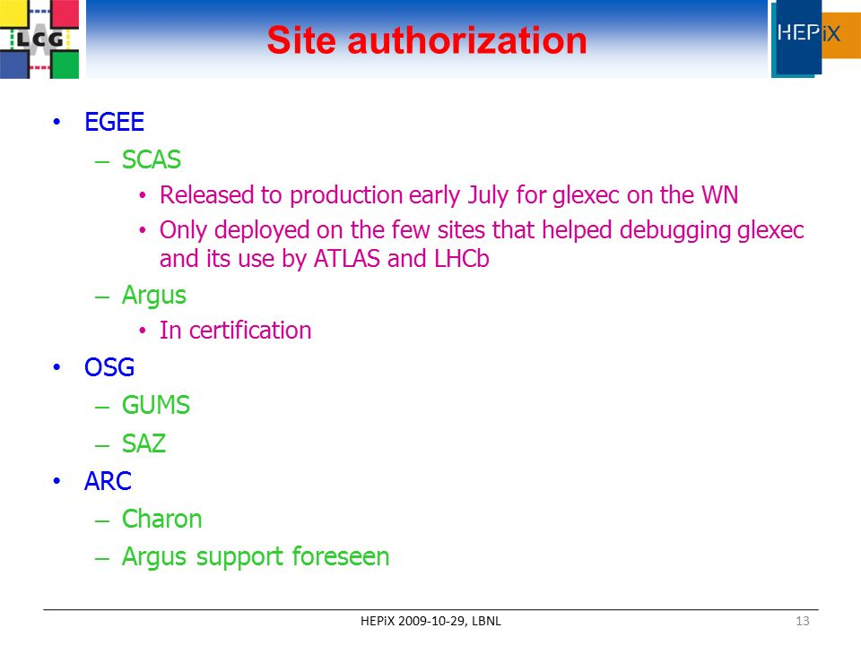 Security aspects of the WLCG infrastructure: clients and services ...