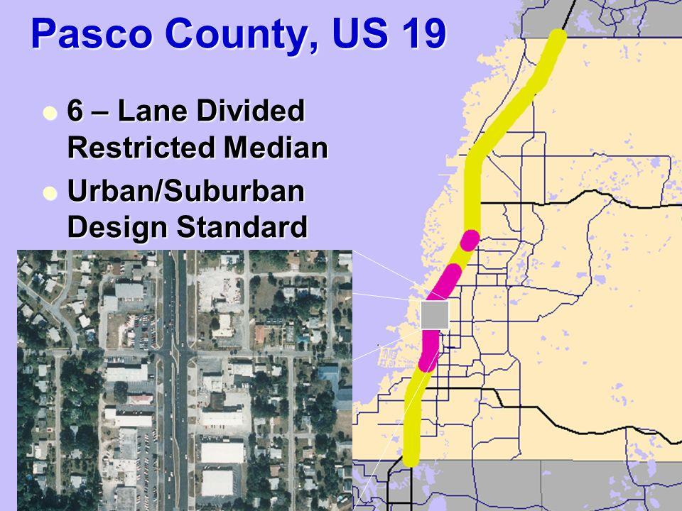 Comparative Crash Data Analysis Pasco County, FL US 19