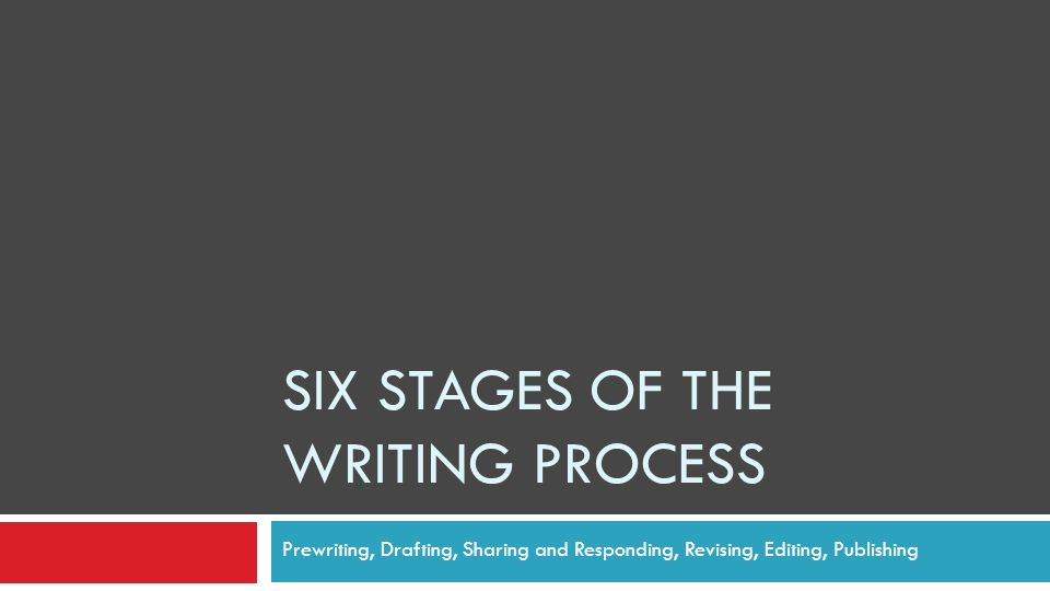 editing in the writing process Second installment of our blog series, turnitin strategies in the writing process by mary lawson, professor of english at houston community i use the rough draft for editing, for peer review, and for plagiarism prevention you could technically set up another assignment, after the essay has been.