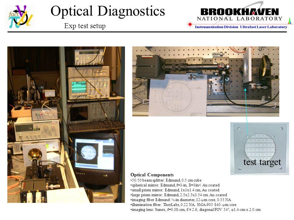 Optical Diagnostics Thomas Tsang tight environment high radiation