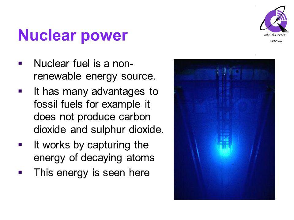 nuclear energy ashfield direct learning anthony spalding ks4 energy