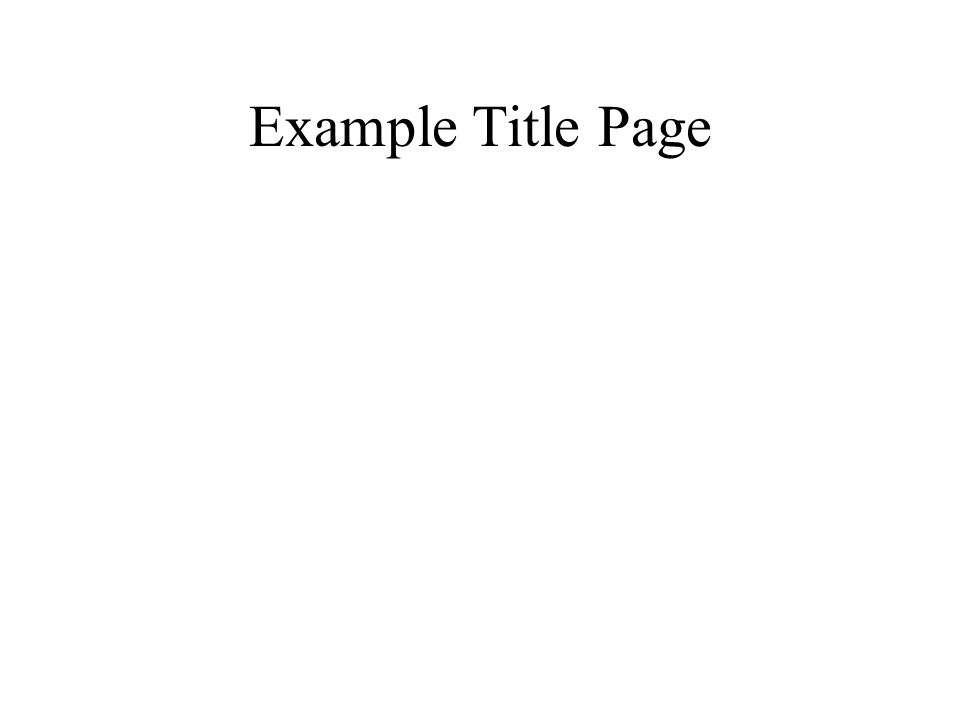 Example Title Page The Abc Book Of Horrible Harry And The