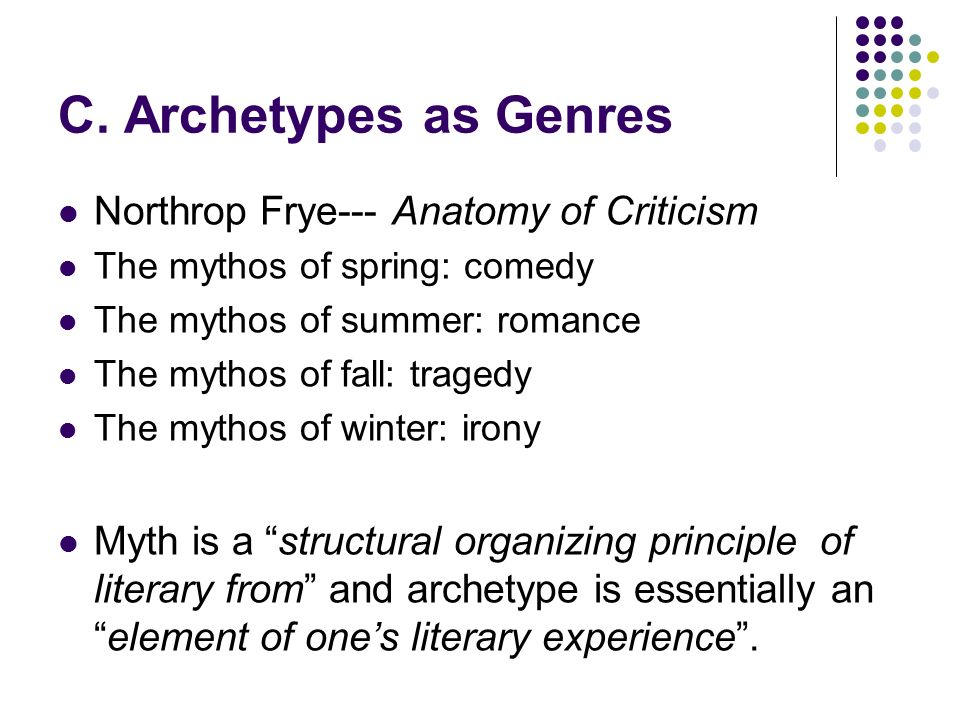 Mythological And Archetypal Approaches By Ppt Download