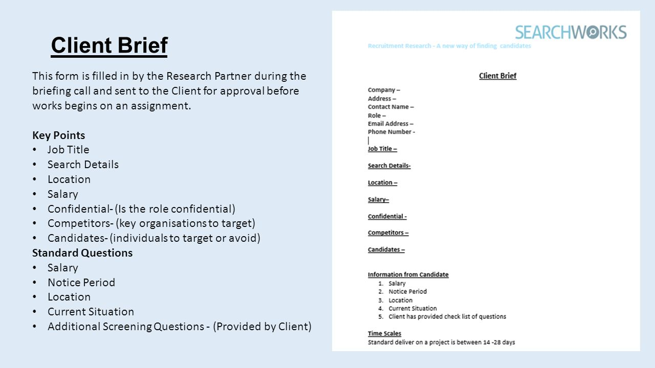 Recruitment Research - A new way of finding candidates. - ppt download