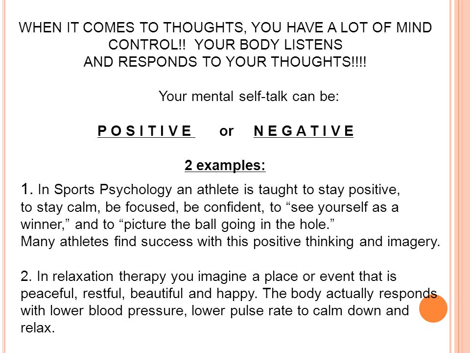 The Power Of Positive Selftalk Are We Born With Selfesteem Or. Worksheet. Negative Self Talk Worksheet At Clickcart.co