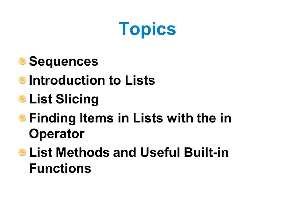 useful presentation topics
