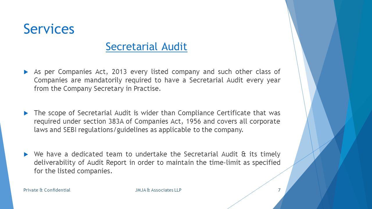 Jmja Associates Llp Company Secretaries Corporate Counsellors