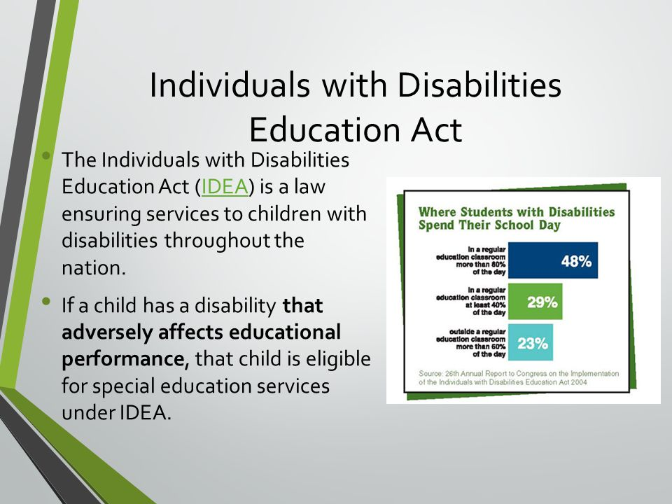 "the individuals with disabilities education improvement act laws ""any other act and any regulation which refers to the education of the handicapped act shall be considered to refer to the individuals with disabilities education act"" definitions pub l 111–256 , § 2(k), oct 5, 2010 , 124 stat 2644 , provided that."