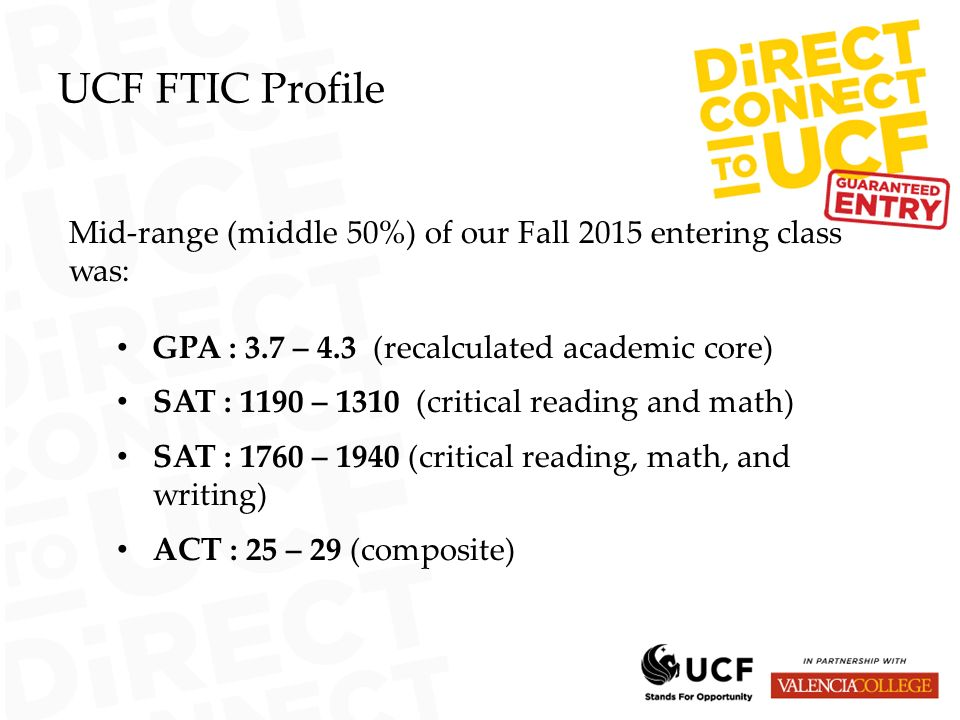 Ucf Gpa Requirements >> Dual Enrollment First Time In College Ftic Board Of Governors