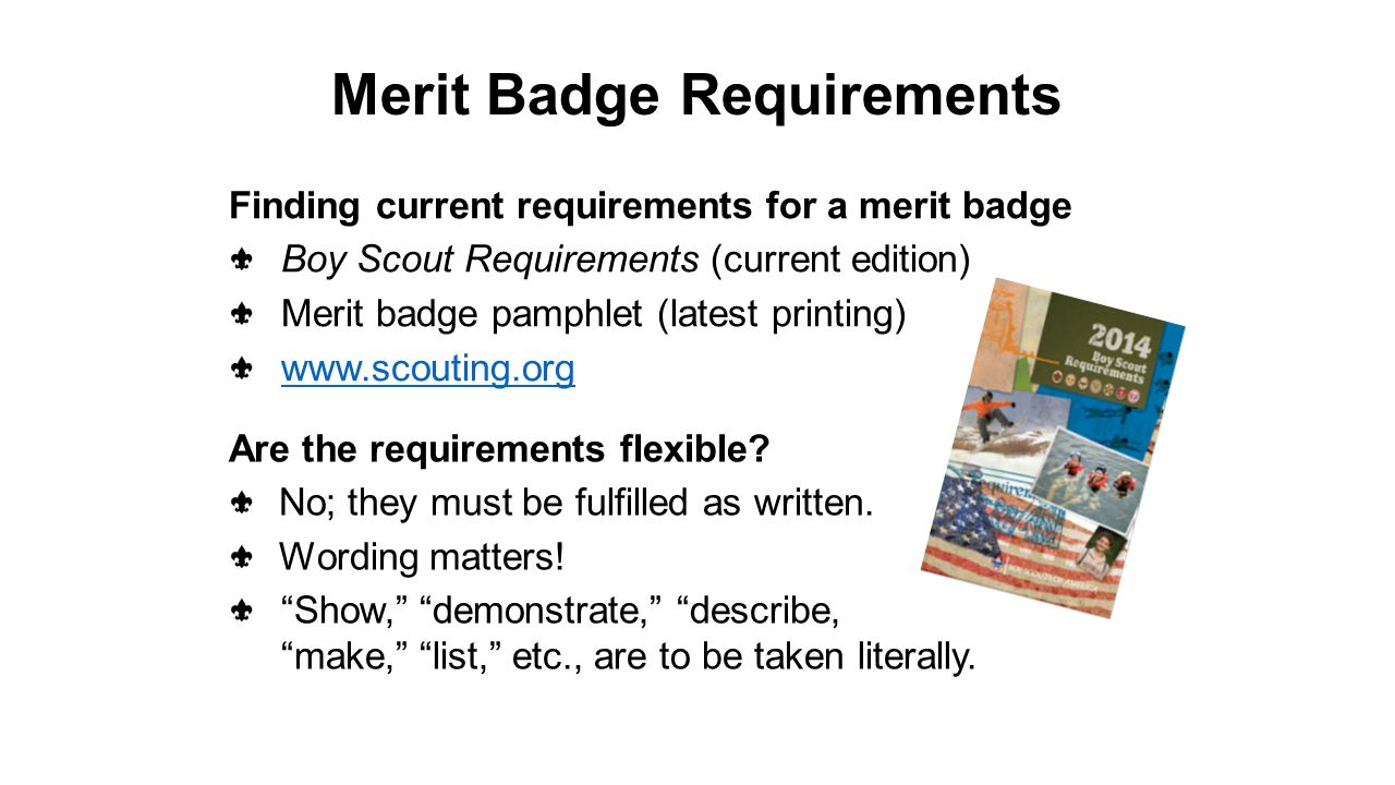 Workbooks usscouts org merit badge worksheets : Subsequent Scout/counselor meeting The Merit Badge Process ...