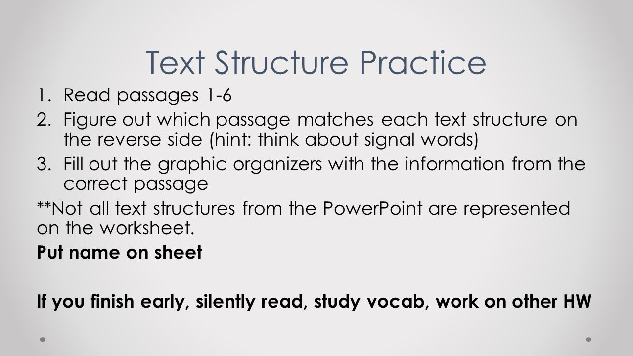 Workbooks text structure practice worksheets : Text Structure Practice Worksheets - Checks Worksheet