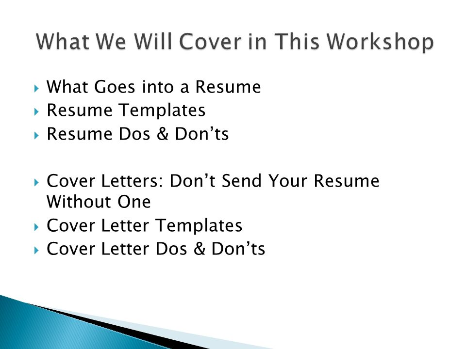 2 what goes into a resume resume templates resume dos donts cover letters dont send your resume without one cover letter templates