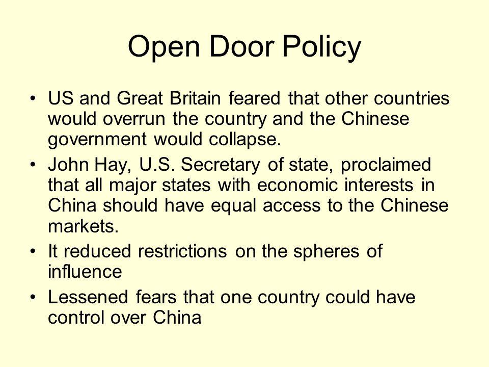 open door policy document. 24 Open Door Policy Document T