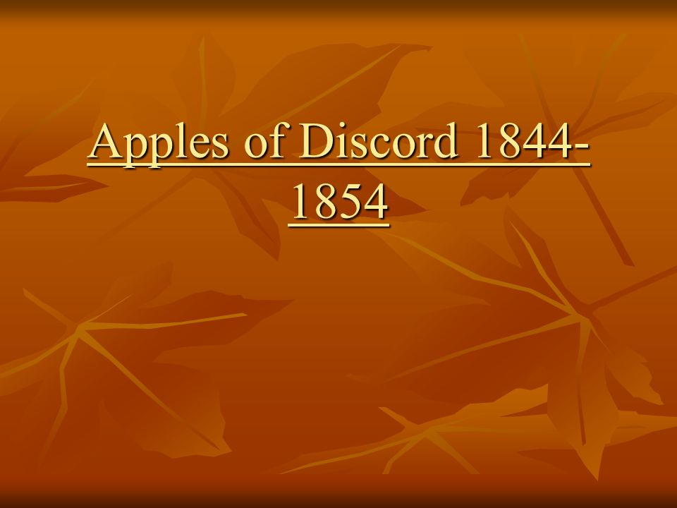 Apples of Discord Pat Points… The US will conquer Mexico