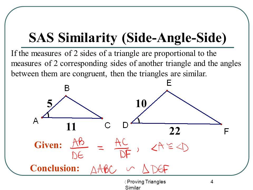 Lesson 5 3 Proving Triangles Similar 1 Lesson 6 3 Similar Triangles