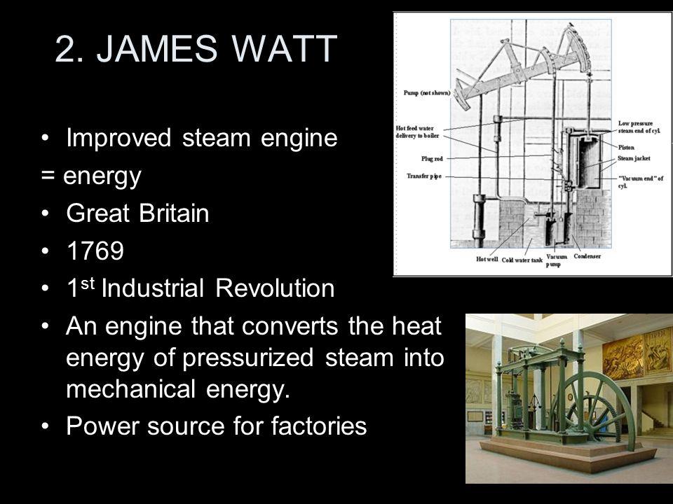james watt industrial revolution
