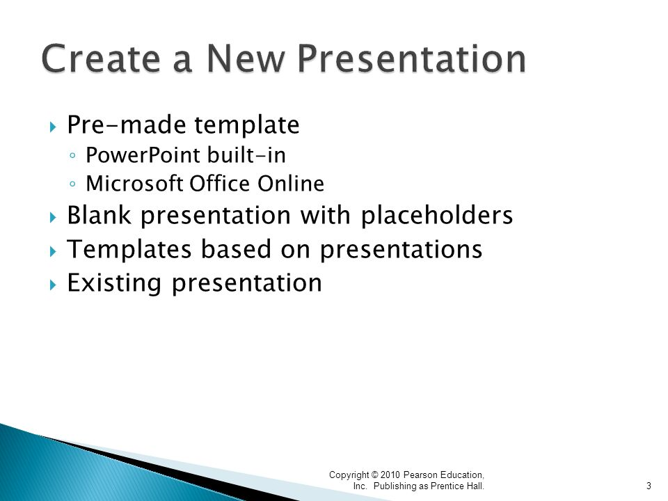 Copyright 2010 pearson education inc publishing as prentice hall pre made template powerpoint built in microsoft office online blank toneelgroepblik Choice Image