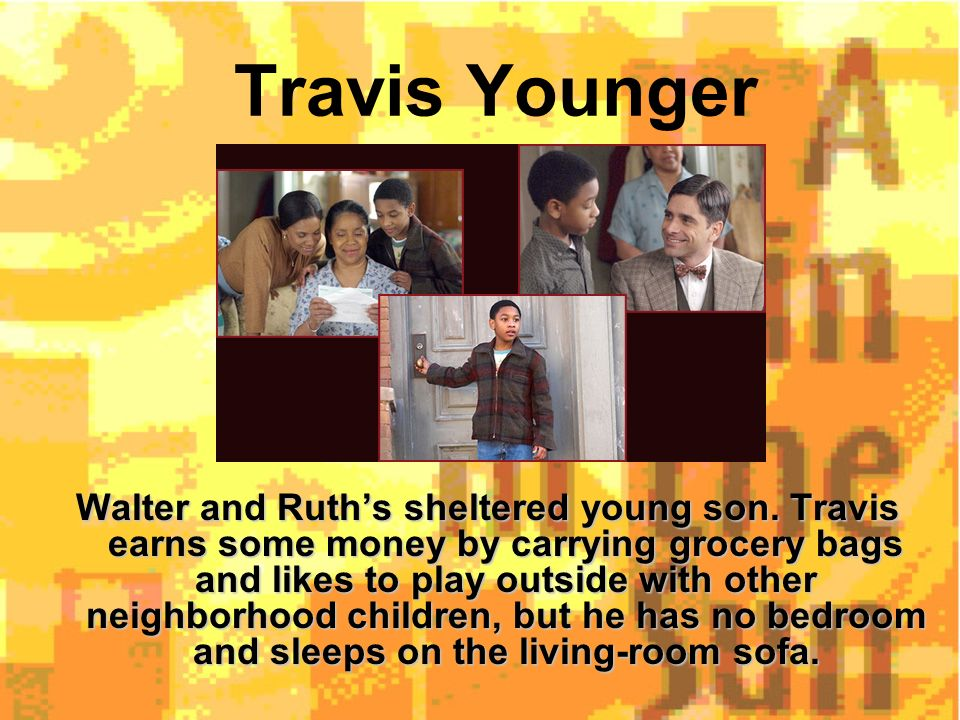 a raisin in the sun movie characters
