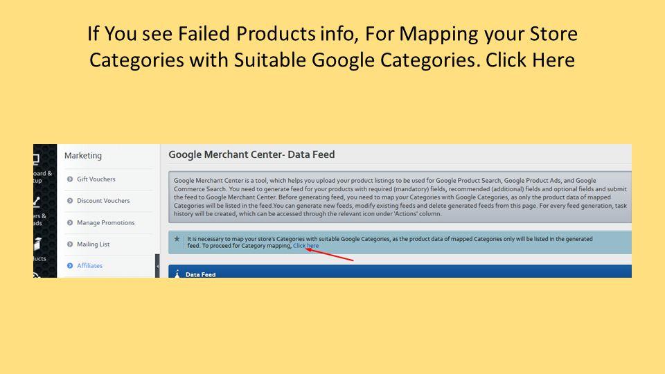 Google Merchant Center Feed Process Manohar Bennuri  - ppt download