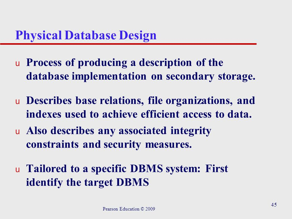 Chapter 4 Database System Development Lifecycle Pearson Education C Ppt Download