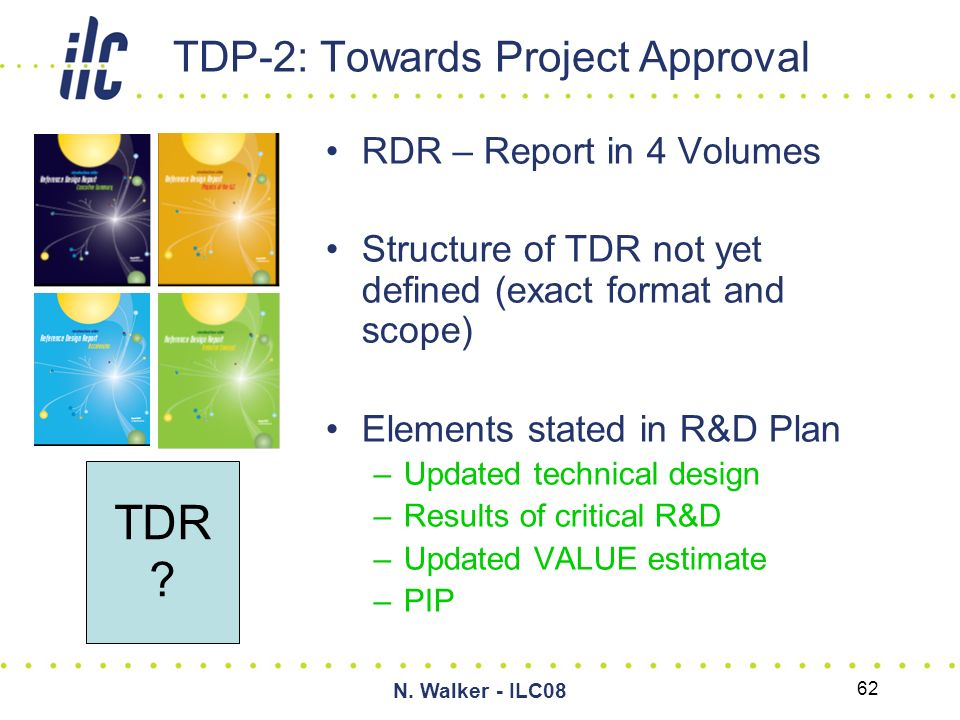 GDE Summary (from the Project Managers Perspective) Marc