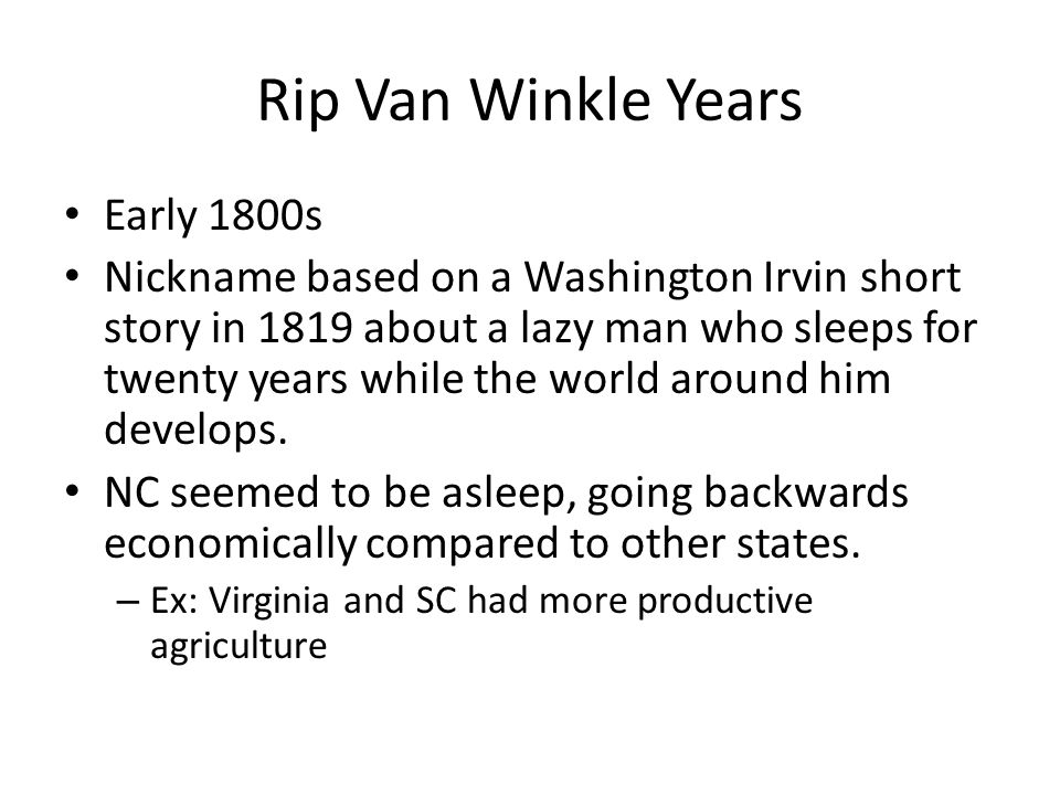 rip van winkle plot analysis