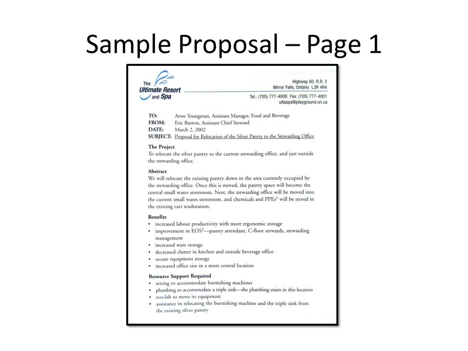 4 sample proposal page 1