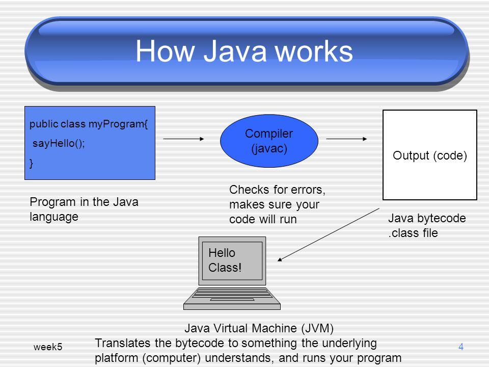run java class file