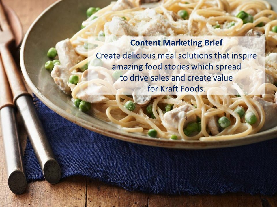 kraft foods marketing