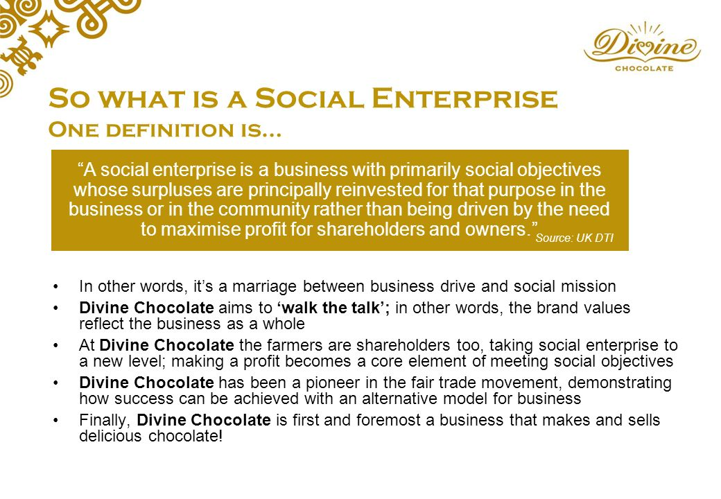 fair trade case study chocolate