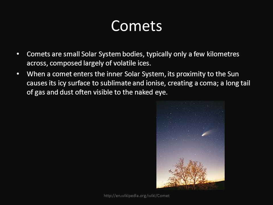 The Solar System The Solar System is made up of the sun and