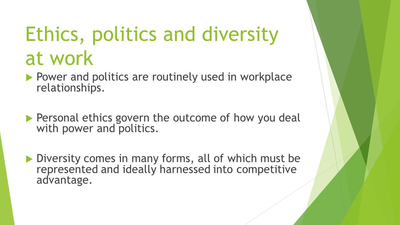 politics in the workplace essay The last two decades have seen a boom in workplace novels written by and mostly marketed to women, from books put out by major publishing houses, to cheaply produced small-press books, to self.