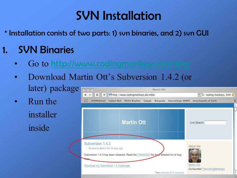 svn subversion download