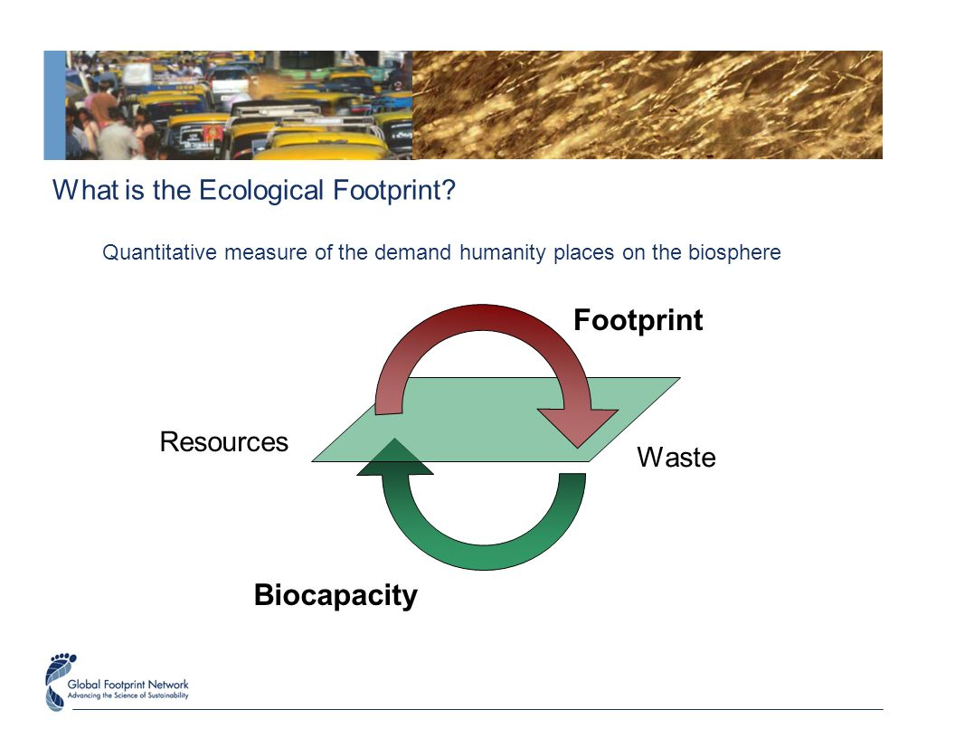 humanity's ecological footprint a tool for navigating in a resource