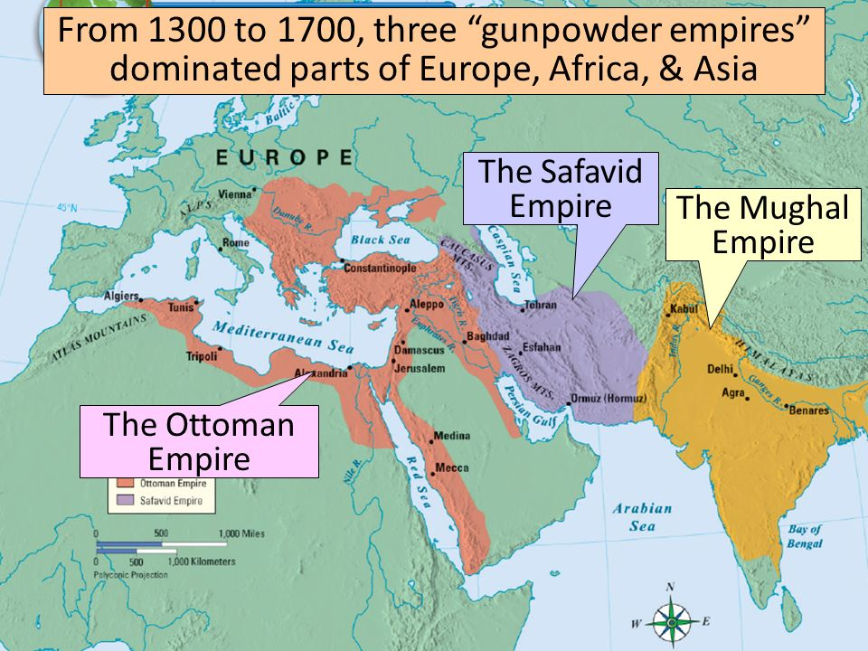 Gunpowder empires ap world history revised and used with permission 4 from publicscrutiny Choice Image