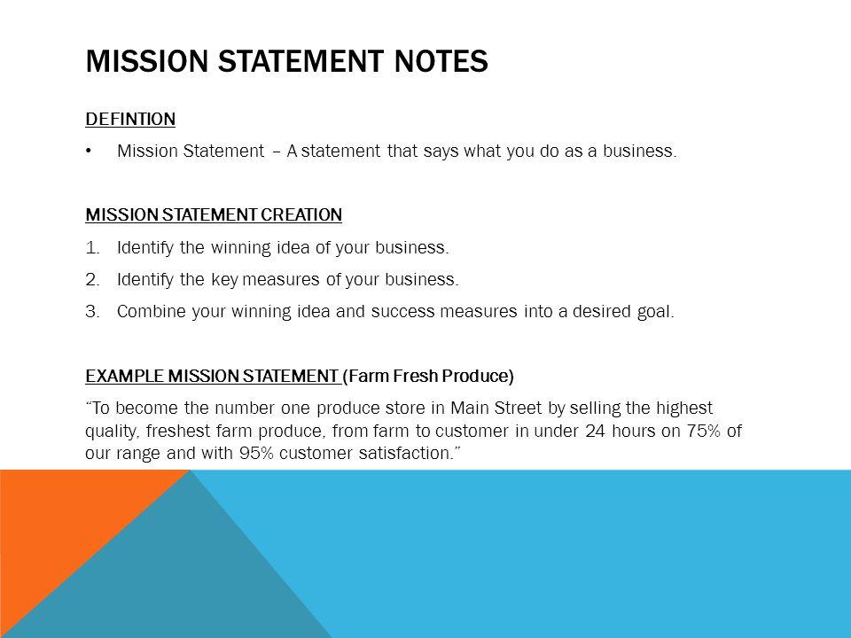 Mission Vision Swot Notes Mr Toth 218 Ppt Download