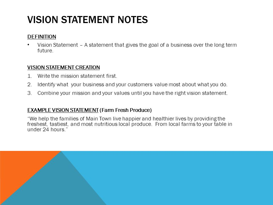 Mission Vision Swot Notes Mr Toth 218 Ppt Download